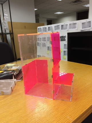 Conceptual model for the booth.
